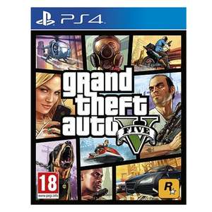 Grand Theft Auto V (PS4) + GTA whale shark card ($3.5 million) £24.69 @ Tesco