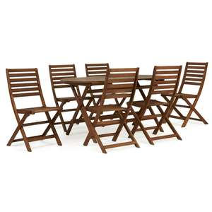 Wilko FSC Wooden Patio Set 6 Seater, £85 plus delivery, with potential £15 amazon voucher!