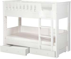 Home Finley Detachable Bunk Bed with Storage £80 @ George (P&P £2.95)