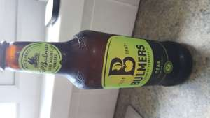 Bulmers original & pear Cider in store at CO OP £1 per 500ml bottle