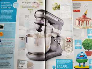 Ambiano Classic Stand Mixer only £64.99 @ Aldi (from 27th August)