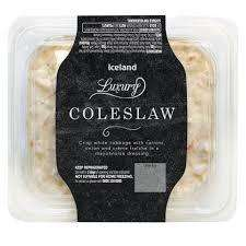Iceland Luxury Coleslaw 300g for 50p @ Iceland