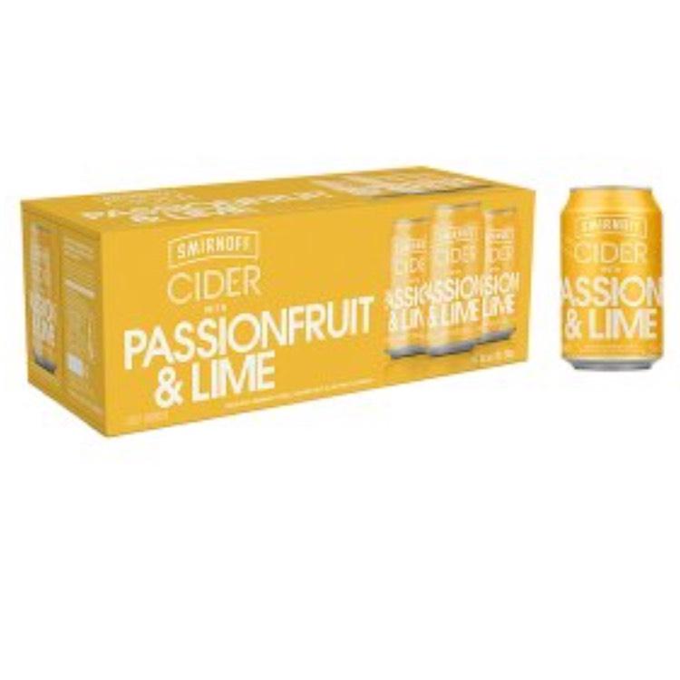 Smirnoff cider 10-pack - £6.70 instore @ Asda