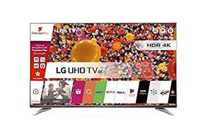 LG 65UH661V 65 inch Ultra HD 4K Smart TV webOS (2016 Model) - Carbon Titan - Amazon £999