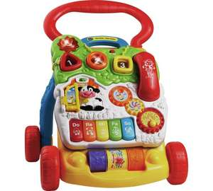 VTech First Steps Baby Walker in Primary Colours or Pink now £16.99 C+C @ Argos in Baby Event