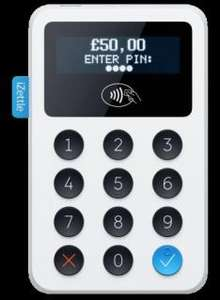 New iZettle Reader for £19 + VAT (Normally £59 +VAT)