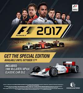 £29.19 - F1 2017 PC - Steam (Special Edition with 1988 McLaren)