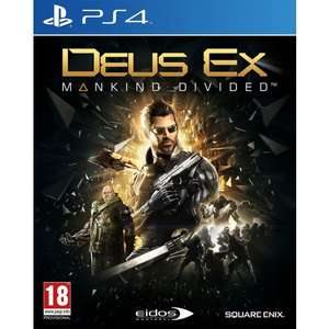 [PS4] Deus Ex: Mankind Divided Day One - £4.85 - TheGameCollection