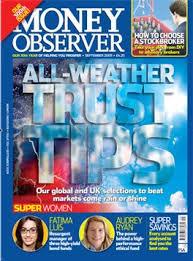 Free copy of Money Observer magazine