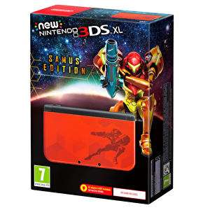 New Nintendo 3DS XL Samus Edition PREORDER @ Amazon.co.uk (PRIME 157.99 w/ code)