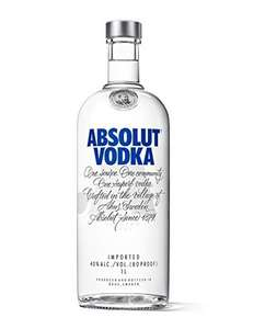 2 1L Absolut Vodkas - £16 each with discount - £32 @ Amazon! (Possibly £27)