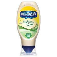 Hellmann's Real - Light And Lighter Than Light  Squeezy Mayonnaise 430Ml + Chilli Squeezy Mayonnaise 250Ml All reduced to £1 Each @ Tesco