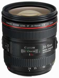 Canon EF 24-70 mm f/4 L IS USM Lens £629 (and further £165 cashback from Canon) @ Wex Photographic