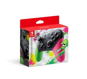 Nintendo Switch Pro Controller - Splatoon 2 Edition £54.90 @Amazon with voucher code