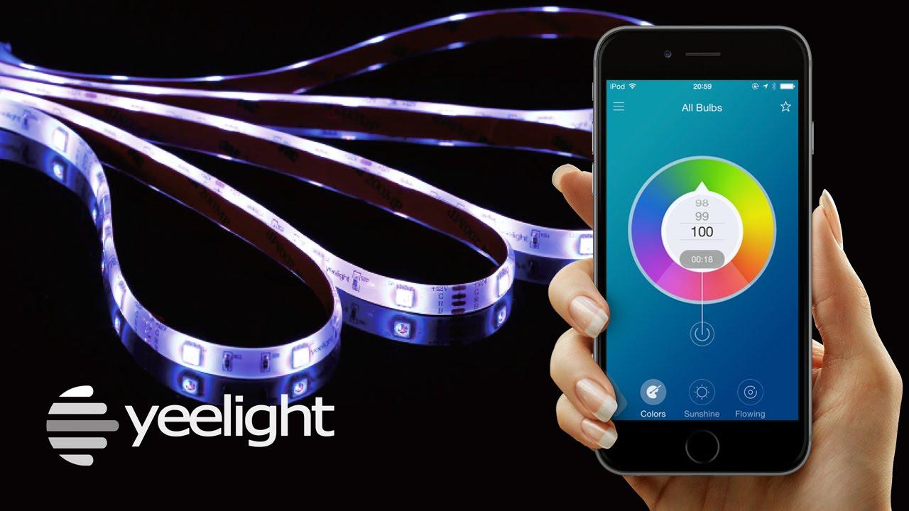 Yeelight Smart LED Light Strip from Gearbest for £23.16