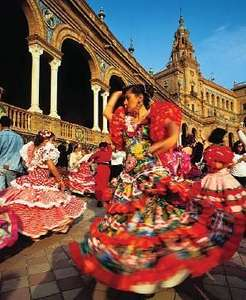 From Manchester: Madrid and Seville 4 night October City Break £181.05pp @ Ryanair/Ebookers