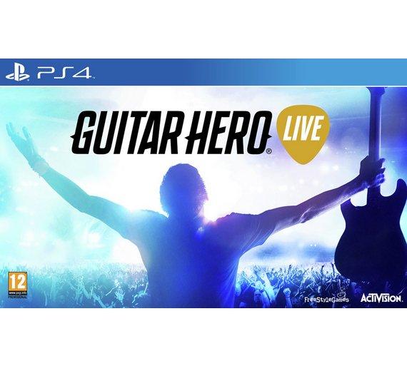Guitar Hero Live PS4 @ Argos for £14.99