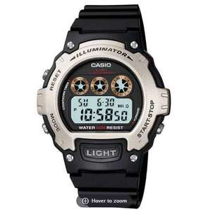 Casio W-214H-1AVEF Men's Digital Illuminator Sports Watch 50M Water, Alarm etc = £10.79 delivered @ 7DayShop