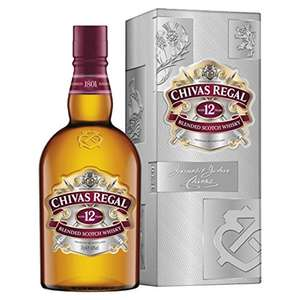 A god 12 yr malt whisky CHIVAS  REGAL AT AMAZON OF COURSE  FREE DELIVERY - £20