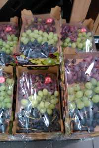 1kg grapes and strawberries £3 @ tesco