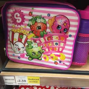 Shopkins lunchbag bottle duo at tescos instore Maldon  Minnie Mouse £4