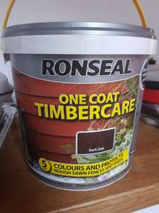 Ronseal one coat timbercare 5L reduced to £1.50!! @ B&M