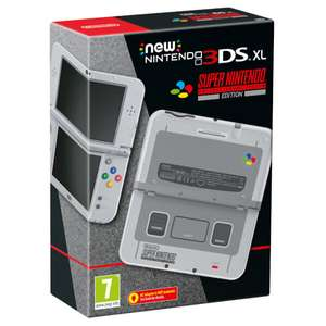 New Nintendo 3DS XL - Super Nintendo Version - Available to order at Nintendo Store UK £179.99