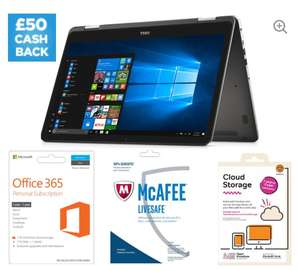 Dell 2-in-1 with FHD display and Software Bundle @£479 (£429 after cashback) - Curry's