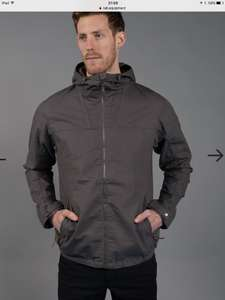 Rab men's breaker jacket grey cotton s,m,l,xl now only £63.75 @ Cotswold outdoor