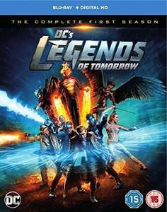 DC's Legends of Tomorrow Season 1 Blu-ray @ Amazon - £9.95 Prime / £11.94 non-Prime
