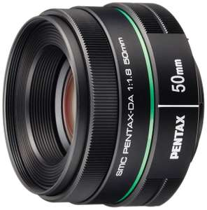 Pentax 50mm f/1.8 SMC DA Lens For K-mount Amazon Prime £61.65