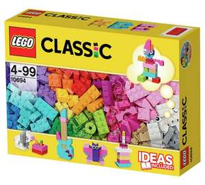LEGO Classic Creative supplement kit (303 pcs) with brighter colours £11.99 @ Argos