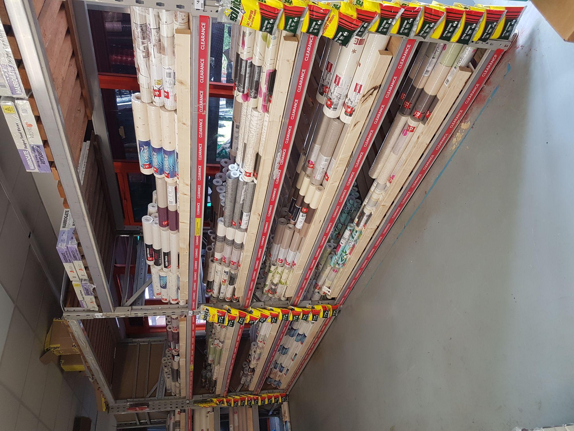 Clearance wallpaper now all £3 B&Q Ilford (Newbury park)