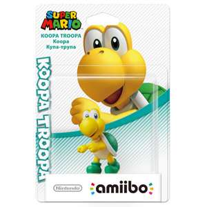 Koopa Troopa & Goomba Amiibo £10.99 each @ Nintendo Store free delivery if bought together otherwise £1.99 p&p