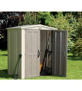 Keter Factor Shed - 6 x 3 ft £157.49 including delivery at Ace