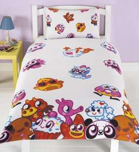 Moshi monsters single duvet cover and pillowcase £3.99 at Halfcost and free p & p if you spend £10