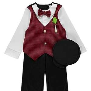 Boys St Davids day outfit and lots of Halloween outfits £1 in store at Sainsbury Swansea