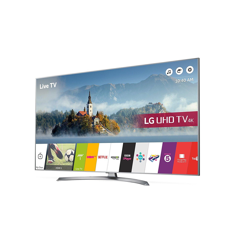 LG 55UJ750V 55 inch 4K Ultra HD HDR Smart LED TV (2017 Model) at Amazon for £699