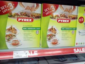 Pyrex casserole sale half price @ Wilko & 3 piece set @ Asda George £8​ (was £15)