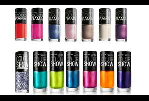 Ten Maybelline Nail polishes @ Groupon - £7.99 (plus £1.99 del)