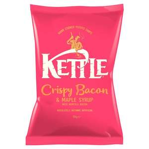 Kettle Chips - Lightly Salted (150g) was £2.00 now £1.00 @ Morrisons