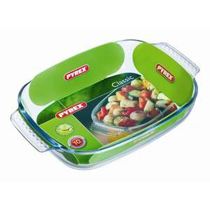 PYREX Glass Rectangular Roaster 30 x 20cm ONLY £2.99 @ Poundstretcher