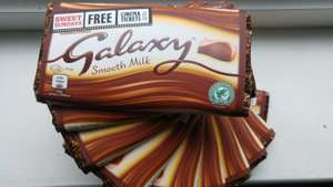Galaxy 114g bar (Sweet Sundays pack) 69p at Home Bargains
