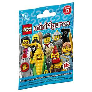 Lego Series 17 Minifigures Half Price at Lego.com @£1.49