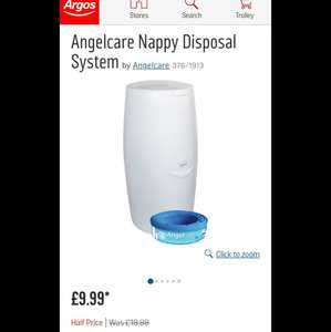 Free Angelcare nappy disposal system! Voucher from Emma's Diary, collection from Argos