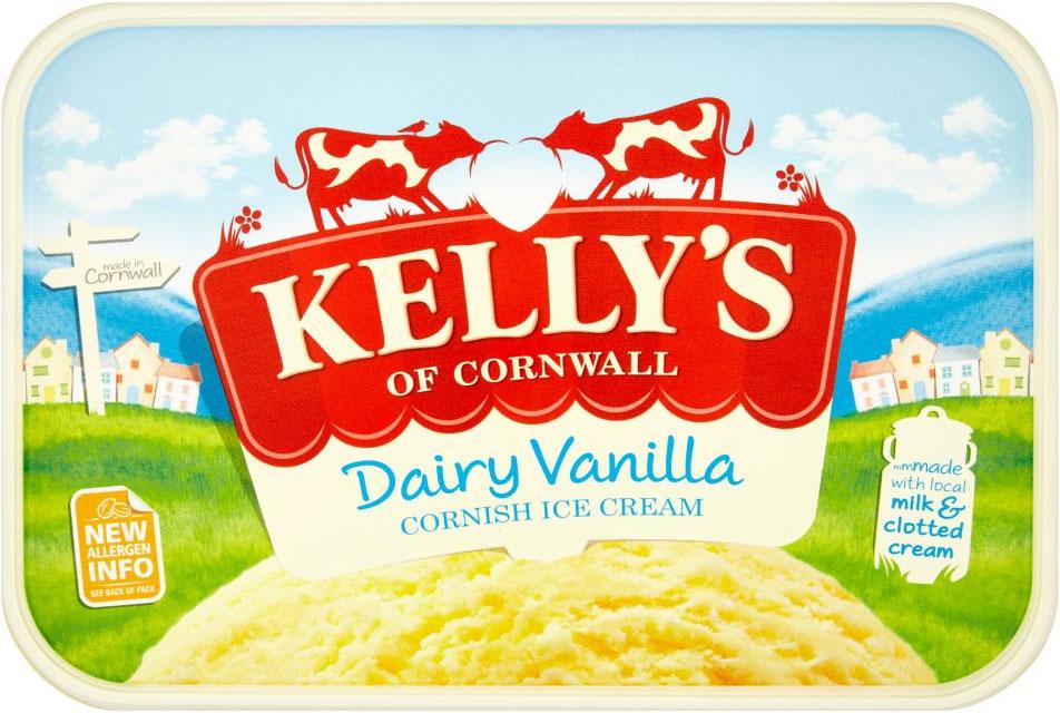 Kelly's Cornish dairy vanilla ice cream (2 Litre) was £4.00 now £3.00 @ Waitrose
