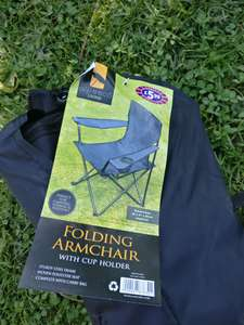 Camping chair £1.99 B&M (Runcorn)