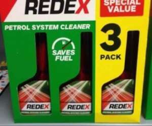 Redex Triple Pack Petrol System Cleaner or Diesel System Cleaner £7 in-store at Asda