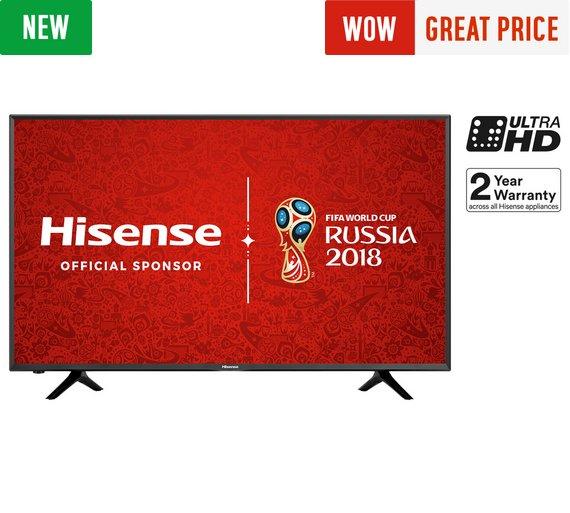 Hisense 43N5300 43 Inch 4K Ultra HD Smart TV - £349 @ Argos