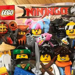 Lego Ninjago Minifigures on sale - £1.50 instore @ Sainsbury's Derby